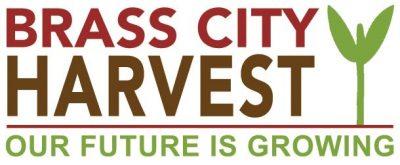 brass city harvest logo