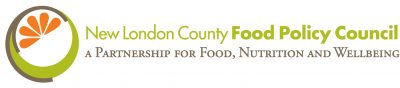 new london county food policy council logo