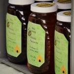 bottles of honey for sale