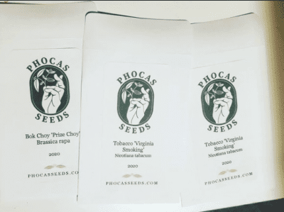 picture of seed packets